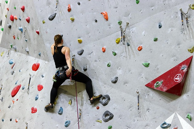 What is bouldering?
